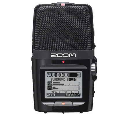 Zoom H2N Portable Handy Recorder Microphone