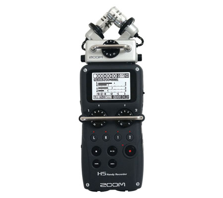 Zoom H5 4-Track Portable Handy Recorder Microphone
