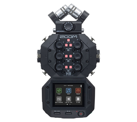 Zoom H8 12-Track Portable Handy Recorder