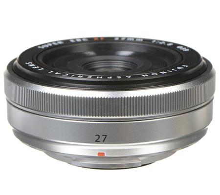 Fujifilm XF27mm f/2.8 Silver