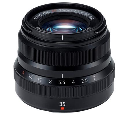 Fujifilm XF35mm f/2 R WR Black