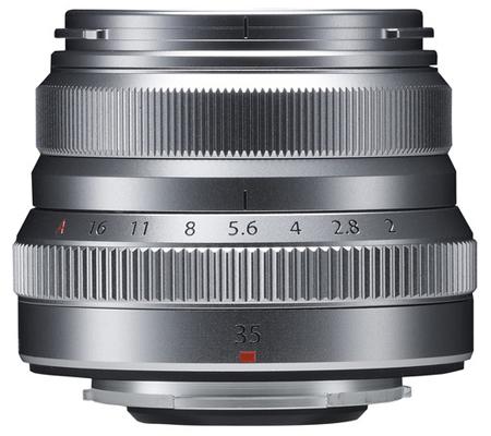 Fujifilm XF35mm f/2 R WR Silver