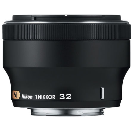 Nikon 1 Nikkor 32mm f/1.2 Black
