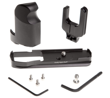 Really Right Stuff BOEM5-L Set Includes: Base + L-Plate + Grip (Black)