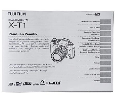 Manual Book Fujifilm XT1