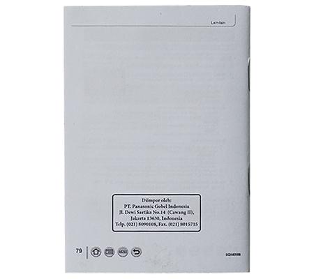 Panasonic TZ110 Manual Book