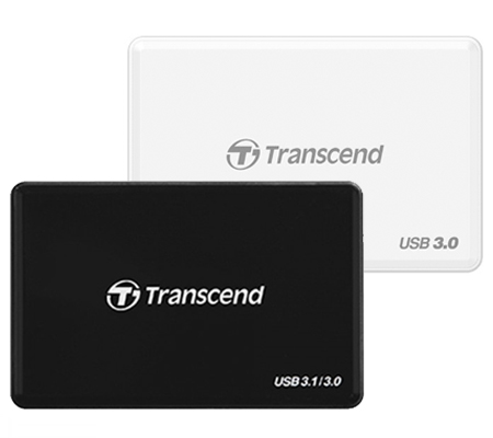 Transcend RDF8 USB 3.0 Card Reader White