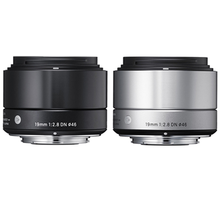 Sigma for Sony E Mount 19mm f/2.8 DN AF Black