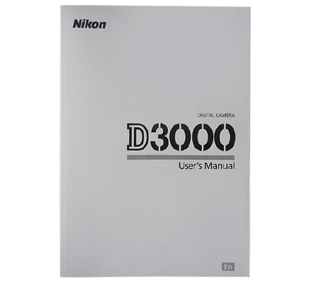 Nikon D3000 Manual Book