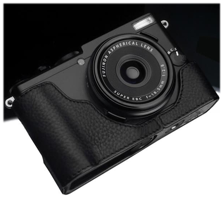 Gariz Leather Case for Fujifilm X70 (XS-CHX70BK) Black