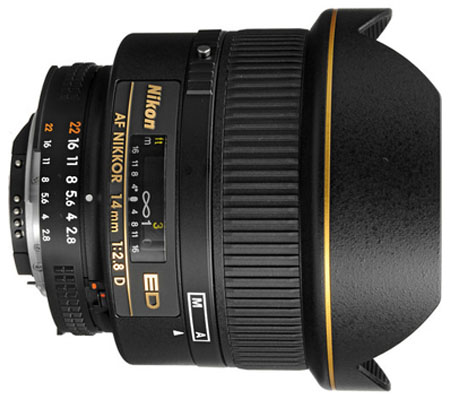 Nikon AF 14mm f/2.8D ED.