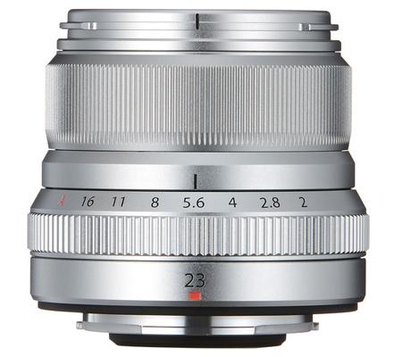 Fujifilm XF23mm f/2 R WR Silver