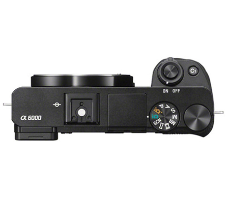 Sony Alpha A6000 Body Black