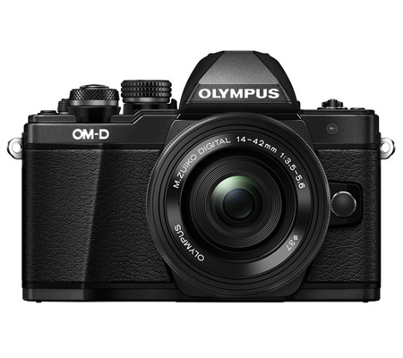 Olympus OM-D E-M10 Mark II kit 14-42mm F3.5-5.6 EZ Black