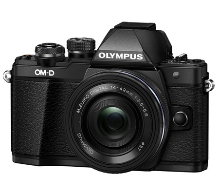 Olympus OM-D E-M10 Mark II kit 14-42mm F3.5-5.6 EZ Black