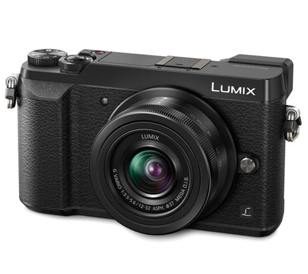 Panasonic Lumix DMC-GX85 kit G Vario 12-32mm f/3.5-5.6 Black