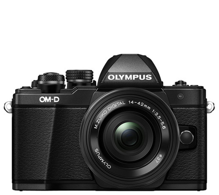 Olympus OMDEM10 Mark II kit 14-42mm F3.5-5.6 EZ Black