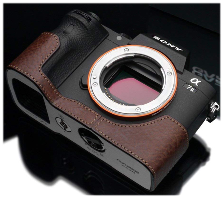 Gariz Leather Case for Sony A7II (XS-CHA7IIBR) Brown