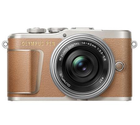 Olympus PEN E-PL9 with M.Zuiko 14-42mm EZ Brown