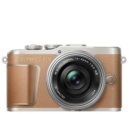 Olympus PEN EPL9 with M.Zuiko 14-42mm EZ Brown