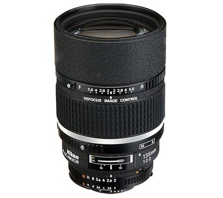 Nikon AF DC 135mm f/2D.