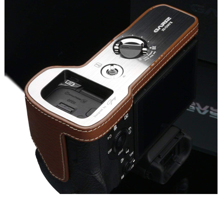 Gariz Leather Case for Sony A7II (XS-CHA7IICM) Camel