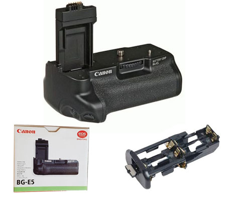 ::: USED ::: Canon Battery Grip BG-E5 (Excellent To Mint)
