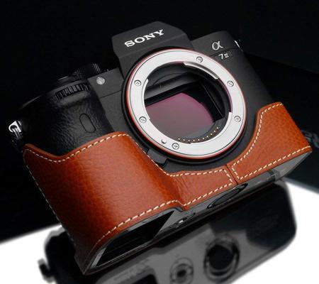 Gariz Halfcase for Sony A7 III / A9 Camel