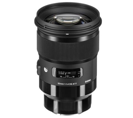 Sigma for Sony E 50mm f/1.4 DG HSM Art Lens