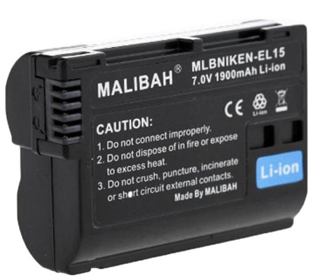 Malibah Nikon EN-EL15 Battery