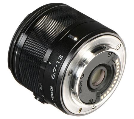 Nikon 1 Nikkor 6.7-13mm f/3.5-5.6 VR Black.
