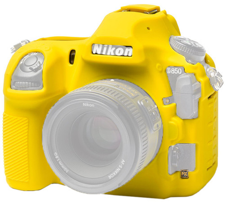 Easy Cover for Nikon D850 Yellow