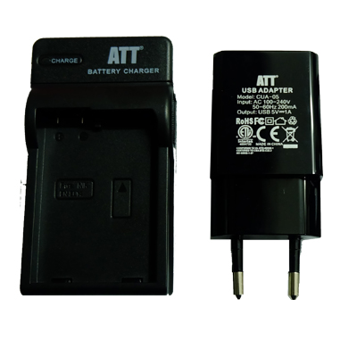 ATTitude DC-NIK-12 Charger for Nikon P1000 / Coolpix A Series