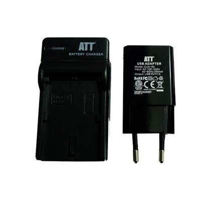 ATTitude DC-NIK-20 Charger for Nikon 1 J1 / Coolpix P1000