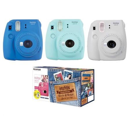 Fujifilm Denim Package Mini 9 Cobalt Blue