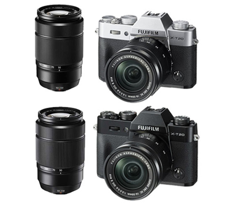 Fujifilm XT20 kit XC16-50mm f/3.5-5.6 OIS II + XC50-230mm f/4.5-6.7 OIS Black
