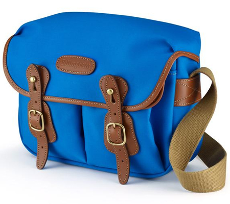 Billingham Hadley Small Imperial Blue Tan 100% Handmade in England