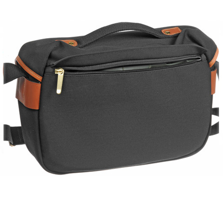 Billingham Hadley Pro Black Tan 100% Handmade in England