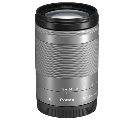 Canon EF-M 18-150mm f/3.5-6.3 IS STM Silver
