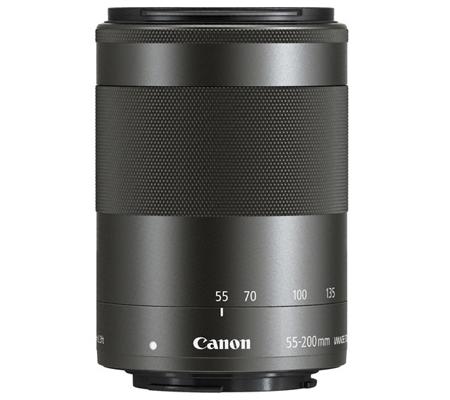 Canon EF-M 55-200mm f/4.5-6.3 IS STM Black