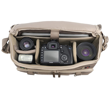 Vanguard Veo Range 38M Large Messenger Camera Bag Beige Tan