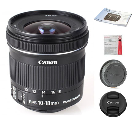 ::: USED ::: Canon EF-S 10-18mm F/4.5-5.6 IS STM (Mint-601)