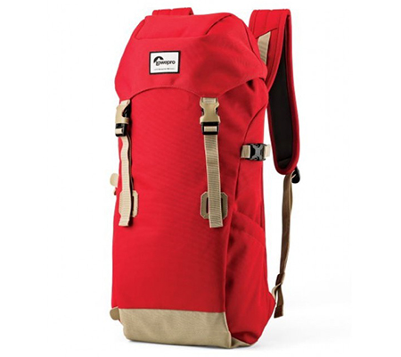 Lowepro Urban+ Klettersack Backpack Red