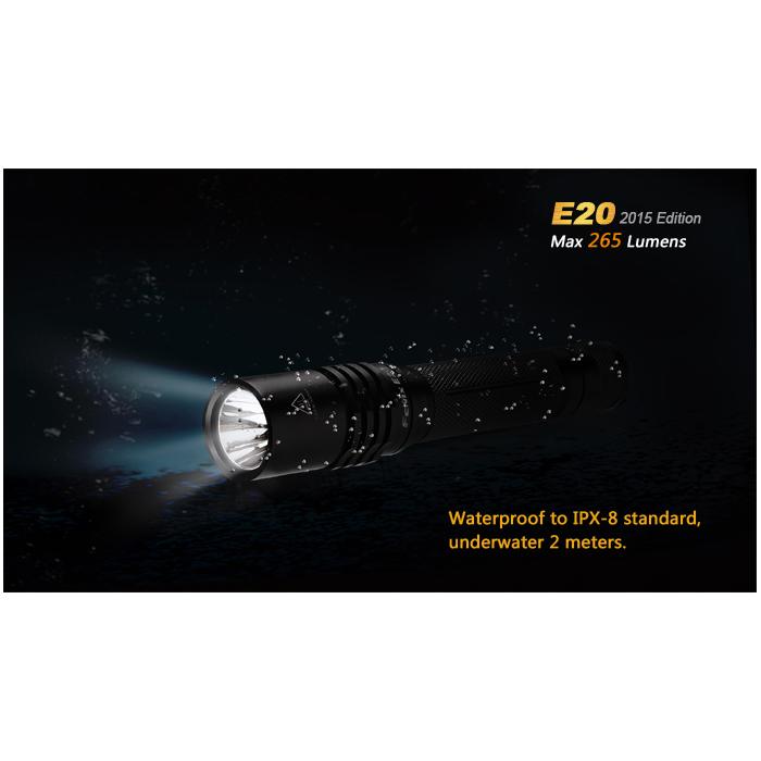 Fenix E20 (265 Lumens)