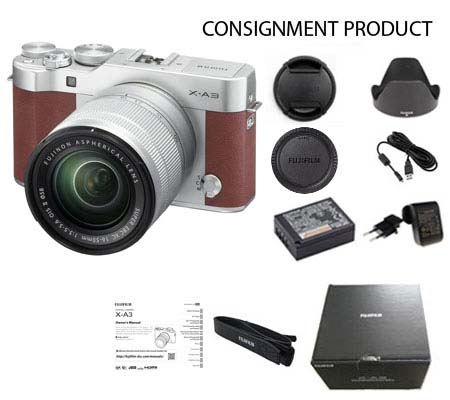:::USED::: FUJIFILM X-A3 Kit XC 16-50mm f/3.5-5.6 OIS II (Excellent) 003/395 Consignment