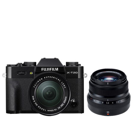 Fujifilm XT20 kit XC16-50mm f/3.5-5.6 OIS II Black