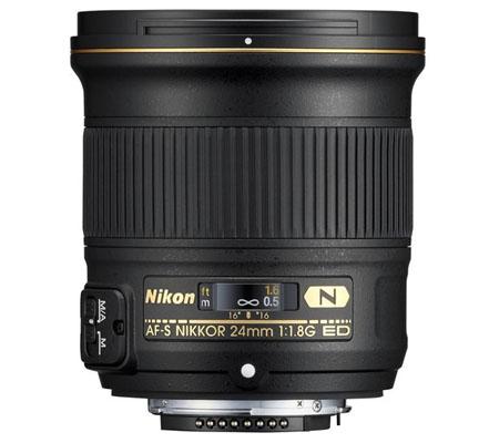 Nikon AF-S 24mm f1.8G ED N