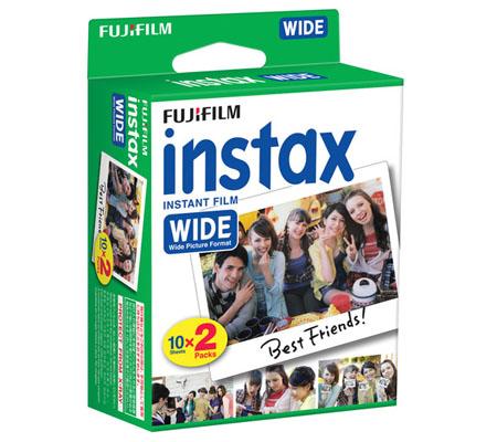 Fujifilm Instax Wide Paper Twin Pack (10X2/PK)