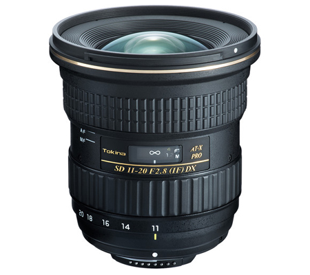 Tokina for Nikon AT-X 11-20mm f/2.8 PRO DX