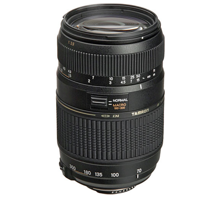 Tamron for Nikon AF 70-300mm f/4-5.6 Di LD Macro Telephoto Zoom Lens (Built in Motor)
